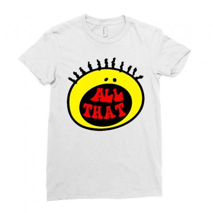 All That Ladies Fitted T-shirt Designed By Shirt1na