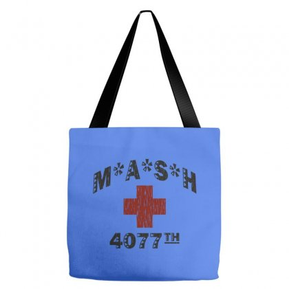 Mash 4077th Tv Division Vintage Style Tote Bags Designed By Mdk Art