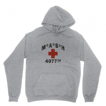 Mash 4077th Tv Division Vintage Style Unisex Hoodie Designed By Mdk Art