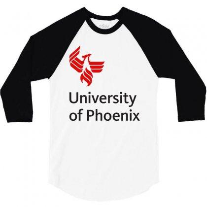 University Of Phoenix Mug 3/4 Sleeve Shirt Designed By Cahayadianirawan