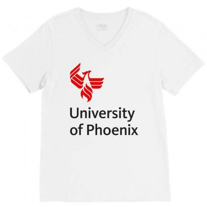 University Of Phoenix Mug V-neck Tee Designed By Cahayadianirawan