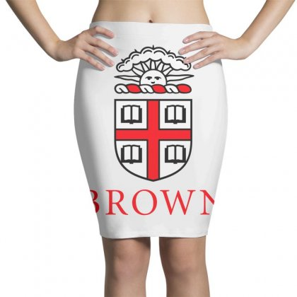 Brown University Logo Pencil Skirts Designed By Cahayadianirawan