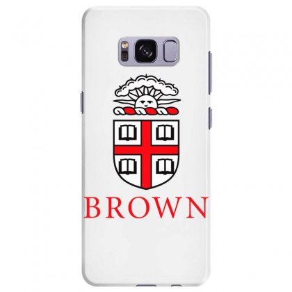 Brown University Logo Samsung Galaxy S8 Plus Case Designed By Cahayadianirawan