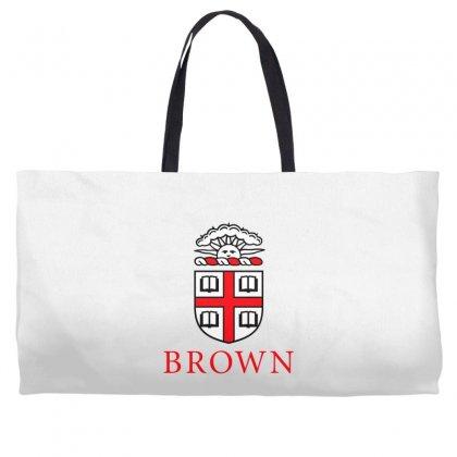 Brown University Logo Weekender Totes Designed By Cahayadianirawan