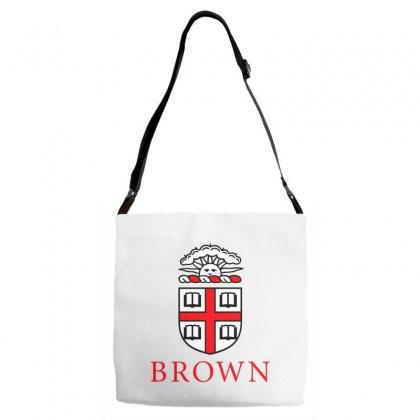 Brown University Logo Adjustable Strap Totes Designed By Cahayadianirawan