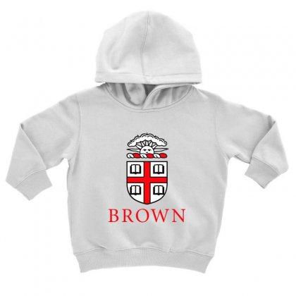 Brown University Logo Toddler Hoodie Designed By Cahayadianirawan