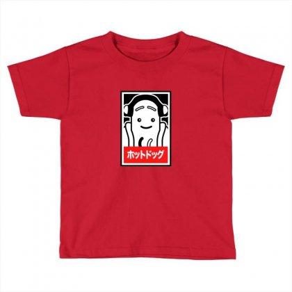 Hot Dog Meme Toddler T-shirt Designed By Arsa