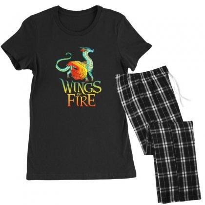 Queen Glory Wings Of Fire Women's Pajamas Set Designed By Rakuzan