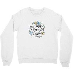 You make my heart smile Crewneck Sweatshirt | Artistshot