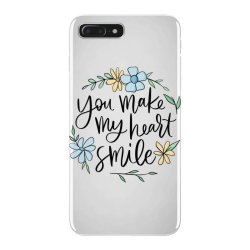 You make my heart smile iPhone 7 Plus Case | Artistshot
