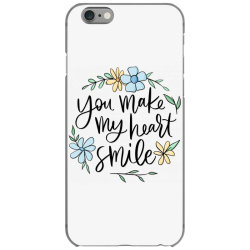 You make my heart smile iPhone 6/6s Case | Artistshot