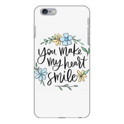 You make my heart smile iPhone 6 Plus/6s Plus Case | Artistshot