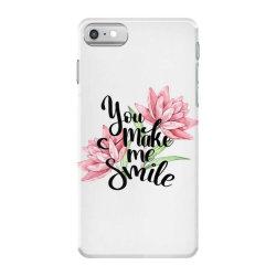 You make me smile iPhone 7 Case | Artistshot
