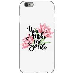 You make me smile iPhone 6/6s Case | Artistshot