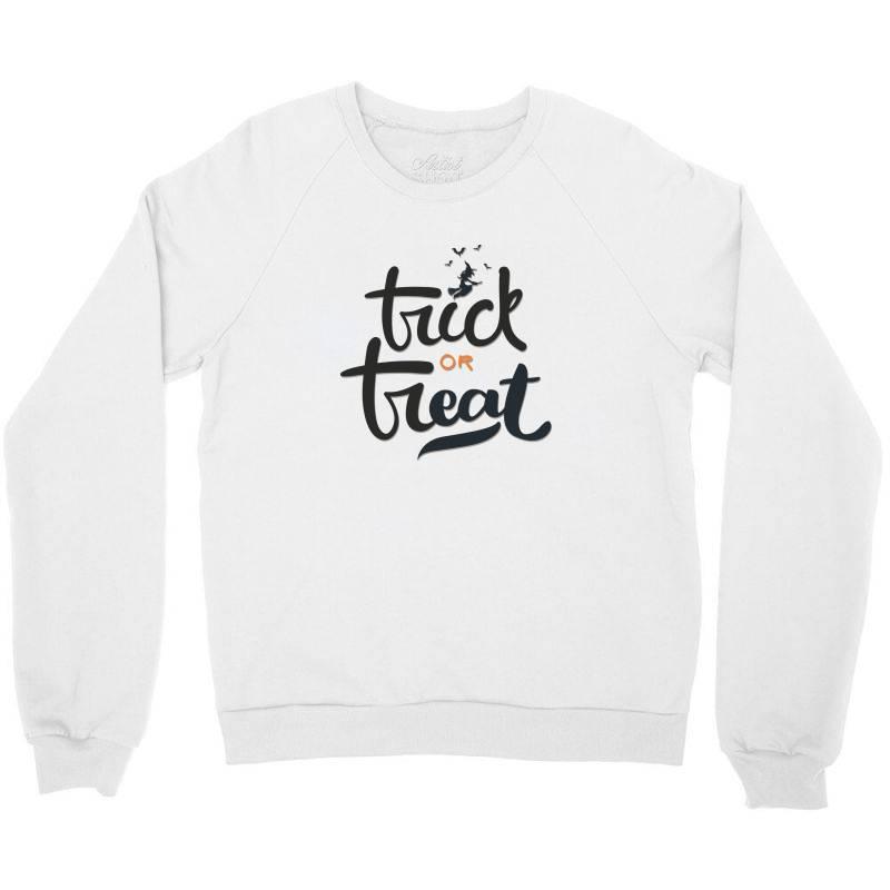 Trick Or Treat Crewneck Sweatshirt | Artistshot