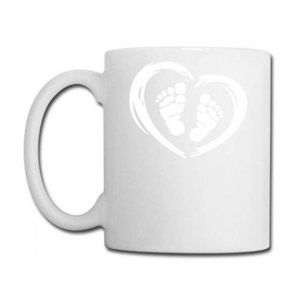 Feet In Heart Coffee Mug Designed By Warief77