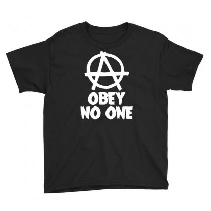 Obey No One Youth Tee Designed By Warief77