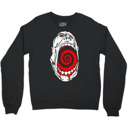 screaming face Crewneck Sweatshirt | Artistshot