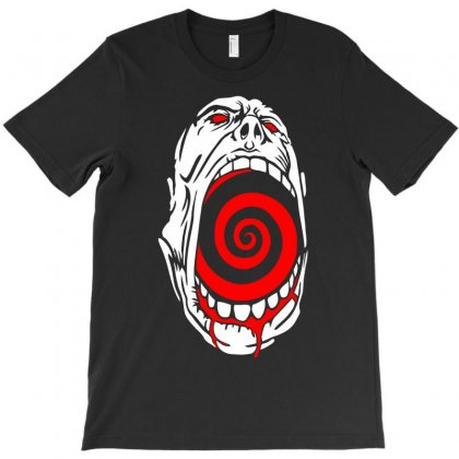 Screaming Face T-shirt Designed By Warief77