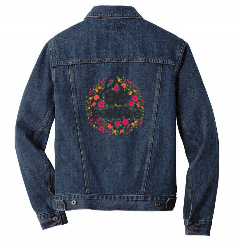 Be Positive Men Denim Jacket | Artistshot