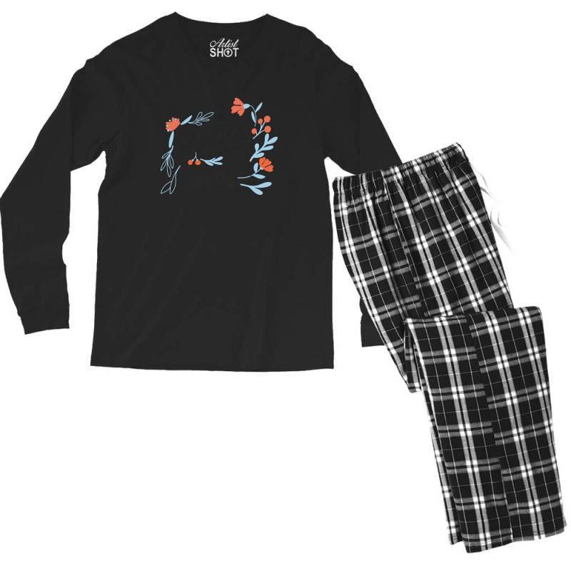 Beauty Is Inside Men's Long Sleeve Pajama Set | Artistshot