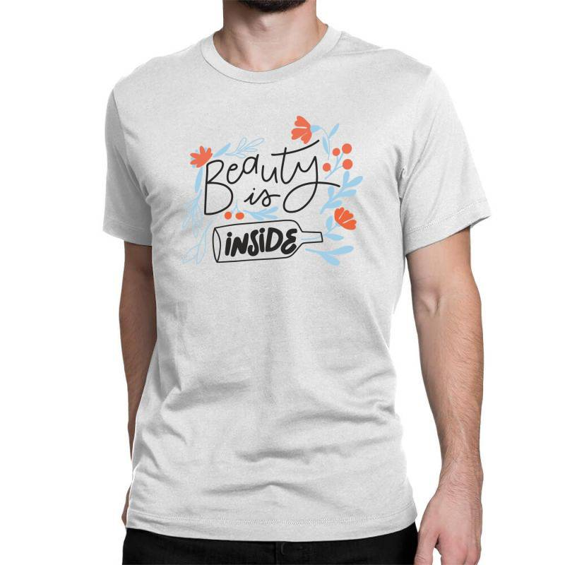 Beauty Is Inside Classic T-shirt   Artistshot