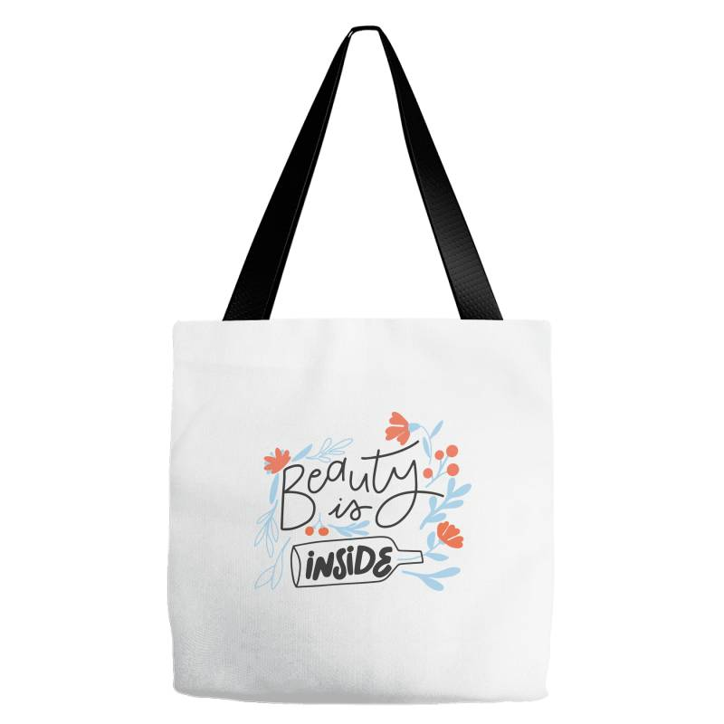 Beauty Is Inside Tote Bags   Artistshot