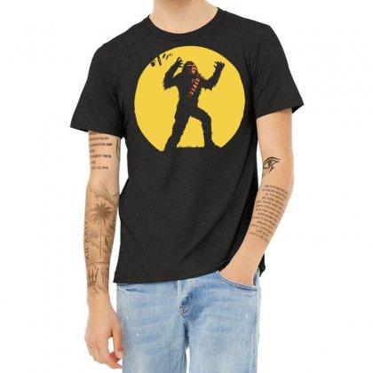 Chewbacca Death Star Glow In The Dark Chewie Tie Fighter Funny 01 Heather T-shirt Designed By Fanshirt