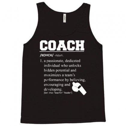 Coach Definition Tshirt Funny Coach 01 Tank Top Designed By Fanshirt