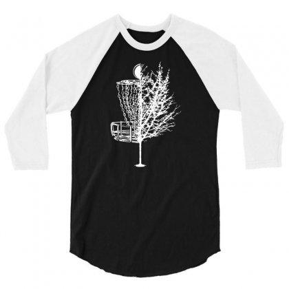 Disc Golf Basket Tree Shirts Funny 01 3/4 Sleeve Shirt Designed By Fanshirt