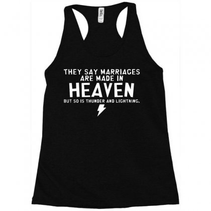 Heaven Thunder Racerback Tank Designed By C4hya
