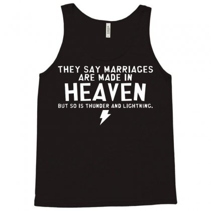 Heaven Thunder Tank Top Designed By C4hya