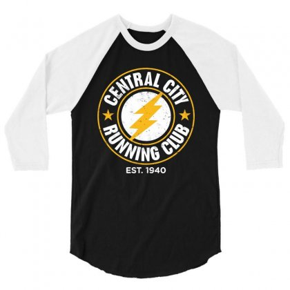 Central City 3/4 Sleeve Shirt Designed By Jasmine Tees