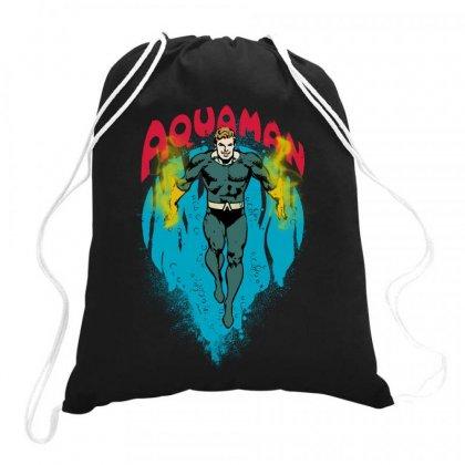 Aquaman Drawstring Bags Designed By Jasmine Tees