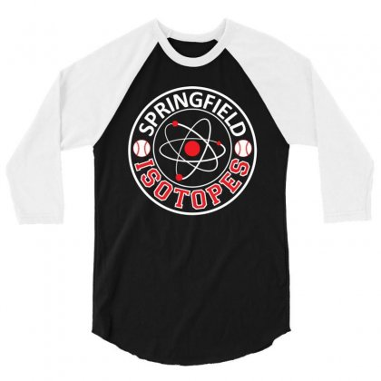 Springfield Isotopes 3/4 Sleeve Shirt Designed By C4hya