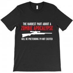 the hardest part about a zombie T-Shirt | Artistshot