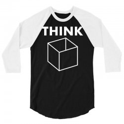 think box 3/4 Sleeve Shirt | Artistshot