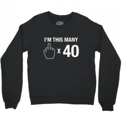 this many Crewneck Sweatshirt | Artistshot