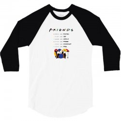 to be like friends 3/4 Sleeve Shirt | Artistshot