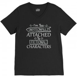 too attached V-Neck Tee | Artistshot