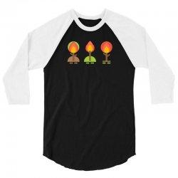 trees v 3/4 Sleeve Shirt   Artistshot