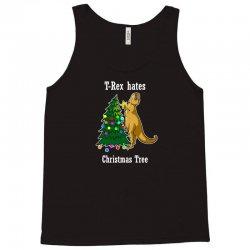 t rex hates christmas tree 2 Tank Top | Artistshot