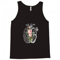 brain and heart for dark Tank Top | Artistshot