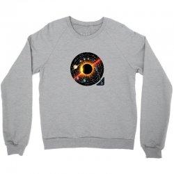 planets record Crewneck Sweatshirt | Artistshot