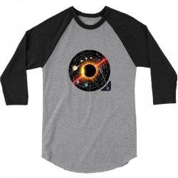 planets record 3/4 Sleeve Shirt | Artistshot