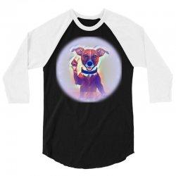 hello goodbye high five dog 3/4 Sleeve Shirt   Artistshot