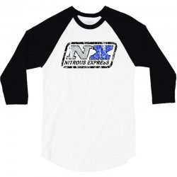 nitrous 3/4 Sleeve Shirt   Artistshot