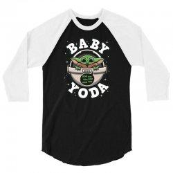 Baby Yoda 3/4 Sleeve Shirt | Artistshot