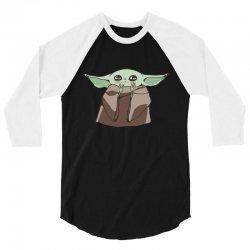 yoda Cute 3/4 Sleeve Shirt | Artistshot