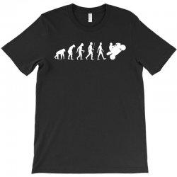 biker evolution T-Shirt | Artistshot
